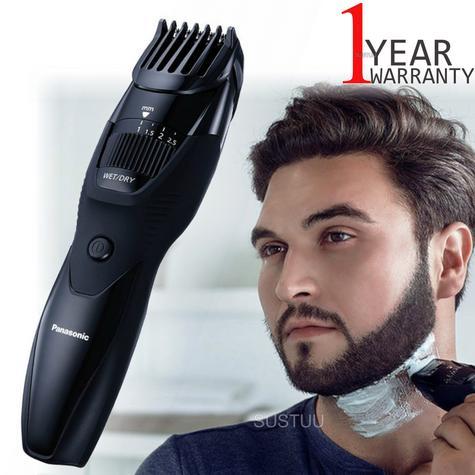 Panasonic ERGB42K Men's Hair-Beard-Moustache Trimmer | Rechargeable | Cordless | Black Thumbnail 1