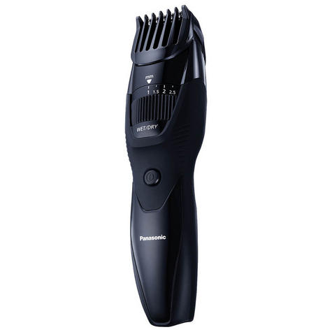 Panasonic ERGB42K Men's Hair-Beard-Moustache Trimmer | Rechargeable | Cordless | Black Thumbnail 2