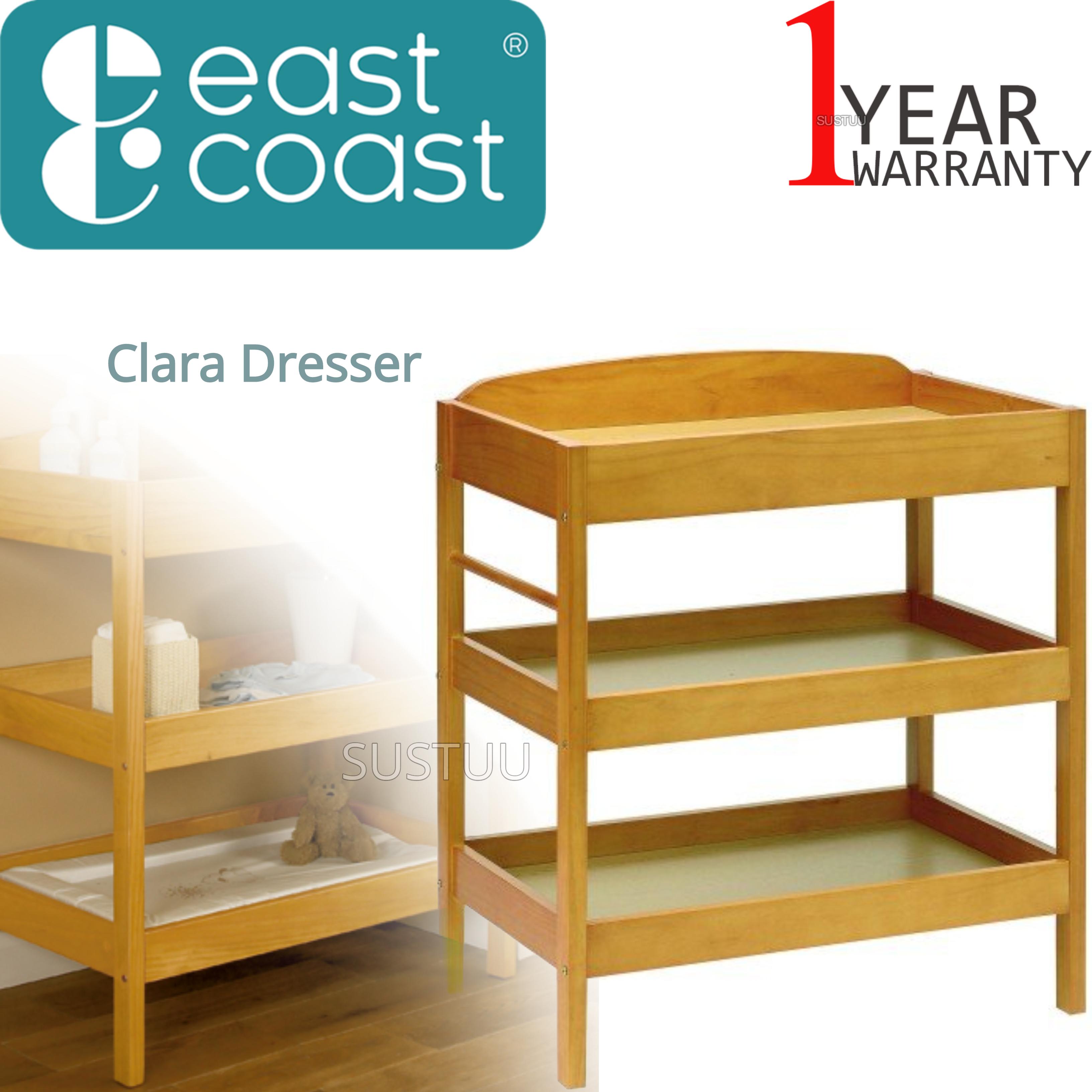East Coast Clara Dresser   Baby/Kids Storage Shalves/ Table & Towel Rail   Antique