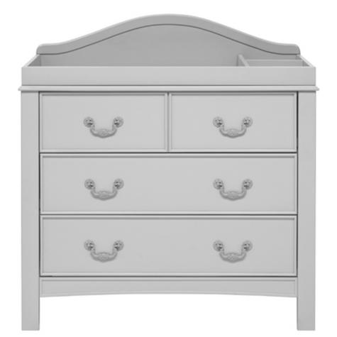 East Coast Toulouse Dresser | Baby/Kids Storage Shelves/Drawers | 2 External Rails Thumbnail 3