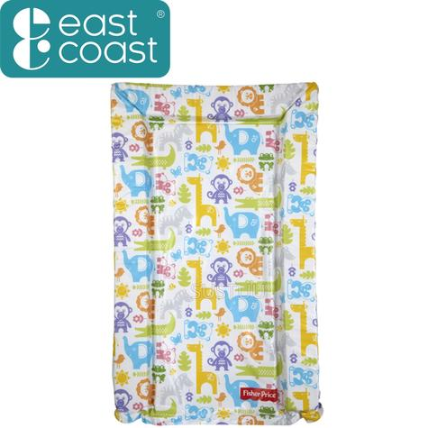 Fisher-Price Baby's Nappy Changing Mat - Jungle Puzzles | Comfort+Easy To Wipe | 0m+ Thumbnail 1