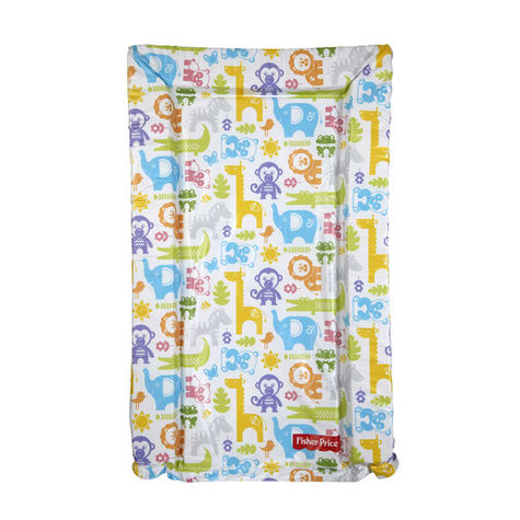 Fisher-Price Baby's Nappy Changing Mat - Jungle Puzzles | Comfort+Easy To Wipe | 0m+ Thumbnail 2
