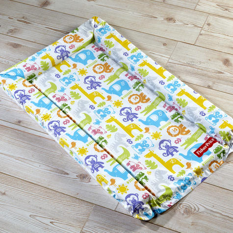 Fisher-Price Baby's Nappy Changing Mat - Jungle Puzzles | Comfort+Easy To Wipe | 0m+ Thumbnail 4
