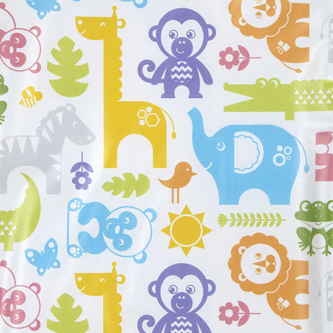 Fisher-Price Baby's Nappy Changing Mat - Jungle Puzzles | Comfort+Easy To Wipe | 0m+ Thumbnail 6
