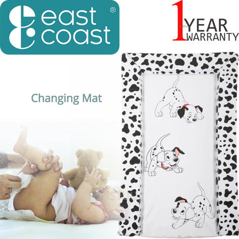 101 Dalmatians Baby's Nappy Changing Mat | WaterProof+Comfortable+Easy To Wipe | 0m+ Thumbnail 1