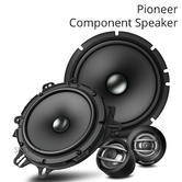 Pioneer 16.5cm 2-Way Component Car Audio Speaker | Composite Cone | 350W | TS A1600C