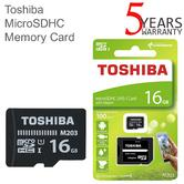 Toshiba M203 16GB Class 10 U1 MicroSD Card with Adapter | 100MB/s | For Phone & Camera