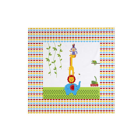 Fisher-Price Splash Mat - Reach the Sky | WaterProof+Comfortable+Easy To Wipe | 0m+ Thumbnail 2