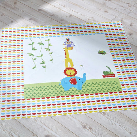 Fisher-Price Splash Mat - Reach the Sky | WaterProof+Comfortable+Easy To Wipe | 0m+ Thumbnail 3