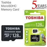 Toshiba M203 128GB Class 10 U1 MicroSD Card with Adapter | 100MB/s | For Phone & Camera