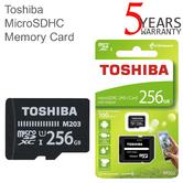 Toshiba M203 256GB Class 10 U1 MicroSD Card with Adapter | 100MB/s | For Phone & Camera