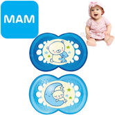 MAM Night Soother | Glows In The Dark | Use Box As Steriliser & Travel Case | +6 Months