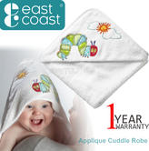 The Very Hungry Caterpillar Applique Cuddle Robe | Soft Towelling Robe With Hood