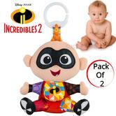 Lamaze Disney Incredibles 2 Clip & Go Jack | Attach To Pram/ Pushchair | With Sound | +0 Months