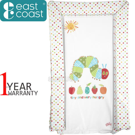 The Very Hungry Caterpillar Changing Mat | Waterproof | Comfortable+Easy To Wipe | 0m+ Thumbnail 1