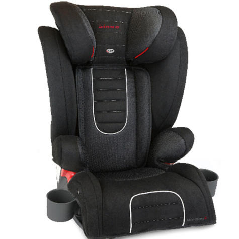 Diono Monterey 2 Group 2/3 Highback Booster Car Seat?Max Weight 15 To 36Kg | Black Thumbnail 2