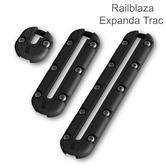 Railblaza ExpandaTrac Modular Kayak Track|For Kayak & Fishing Accessory|Black