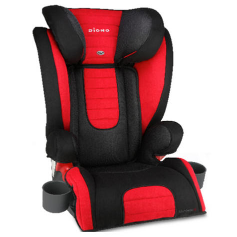 Diono Monterey 2 Group 2/3 Highback Booster Car Seat?Max Weight 15 To 36Kg | Red Thumbnail 2