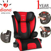 Diono Monterey 2 Group 2/3 Highback Booster Car Seat?Max Weight 15 To 36Kg | Red