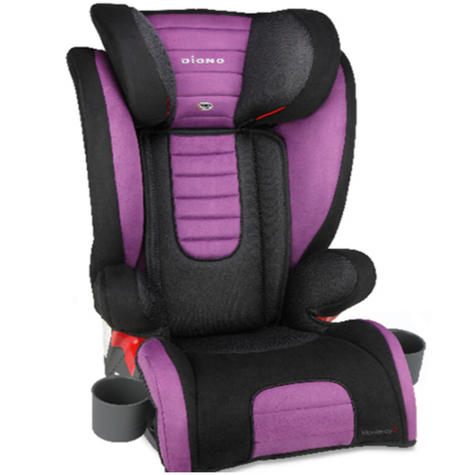 Diono Monterey 2 Group 2/3 Highback Booster Car Seat?Max Weight 15 To 36Kg | Purple Thumbnail 2