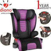 Diono Monterey 2 Group 2/3 Highback Booster Car Seat?Max Weight 15 To 36Kg | Purple