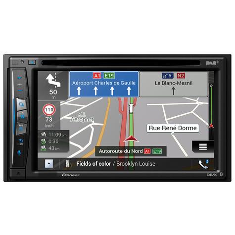 "Pioneer 6.2"" 2-Din Car GPS Navigation+Multimedia Player   WIFI/DVD/CD/MP3/USB/HDMI Thumbnail 2"
