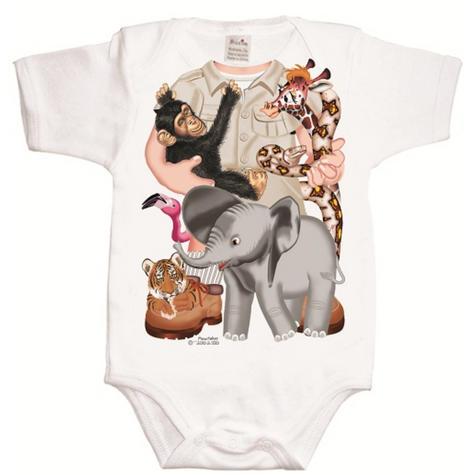 Just Add a Kid 'Wild Bunch Boy' Bodysuit | Super Soft Material | Designer | 12-18mths Thumbnail 2