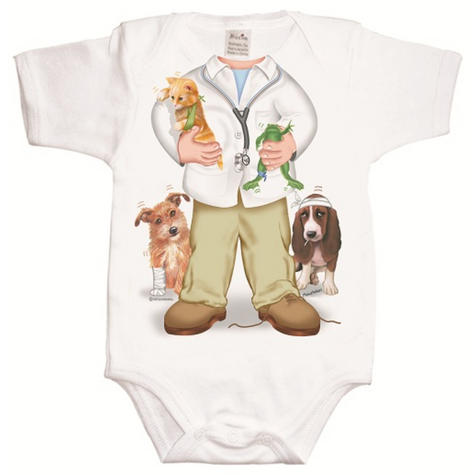 Just Add a Kid  'Doctor Boy' Bodysuit | Super Soft Material | Designer | 12-18mths Thumbnail 2