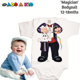 Just Add a Kid  'Magician' Bodysuit | Super Soft Material | Designer Wear | 12-18mths