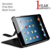 Decoded iPad Mini Slim Back Cover | D3IPAMBC1BK | Tablet Leather Sleeve Case | Black