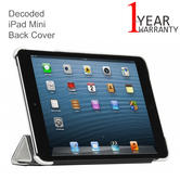 Decoded iPad Mini Leather Slim Cover | Protective Tablet Case | D3IPAMSC1WE | White