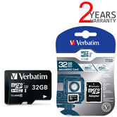 Verbatim 47041 Pro 32GB microSDHC U3 Memory Card with Adapter | For 4k Ultra HD