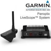 Garmin Panoptix Livescope System with Transom Mount Transducer  Livescope Forward & Down