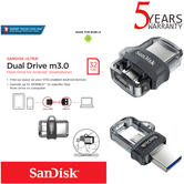 SanDisk 32GB Ultra Dual m3.0 OTG Micro USB Flash Drive/ Memory Stick | For Android Smartphones & Tablets