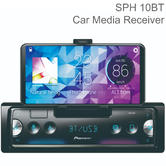 Pioneer Smartphone Media Receiver | 1-DIN Car Player | Bluetooth | USB | Spotify | iPhone-Android