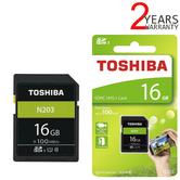 Toshiba 16GB N203 Class 10 SD Card with Adapter | 100MB/s | For Camera | THN-N203N0160E4