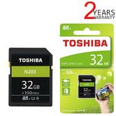Toshiba 32GB N203 Class 10 SD Card with Adapter | 100MB/s | For Camera | THN-N203N0320E4