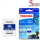 Toshiba FlashAir W-04 32GB SDHC UHS-I Class 3 Wireless LAN Data SD Memory Card