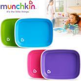 Munchkin Splash  Plates | No-Slip Bottoms | Easy Scooping | Dishwasher+Microwave Safe | 2Pk