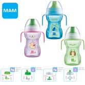 MAM Fun to Drink Baby Free FlowCup|Non Spill|BPA Free|Anti Slip|270ml|c/w Handle