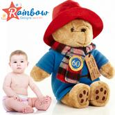 Paddington Bear Anniversary Collection Cuddly 28cm | Kid's Soft Plush Toy | +0 Month
