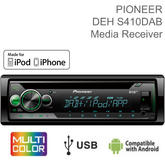 Pioneer Car Stereo | DAB+ Radio | 1-DIN CD Tuner | Media Player | iPod-iPhone-Android | USB