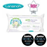 Lansinoh Earth Friendly Baby Organic & Natural Gentle Aloe Vera Wet Wipes - 72Pk