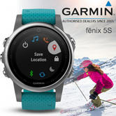 Garmin Fenix 5S Multisport GPS Running Fitness Smart Watch | Wrist-base Heart Rate