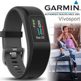 Garmin Vivosport Fitness Running Smart Watch Band | Activity Tracker | Heart Rate & GPS