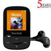 SanDisk Clip Sport 8GB Digital Media MP3 Player with FM Radio | MicroSD Slot | Black