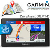 Garmin DriveAssist 50LMT-D | 5'' GPS SatNav + Dash Cam | UK & Ireland Lifetime Maps + Traffic
