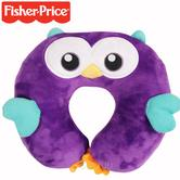 Fisher-Price Woodland Owl Neck Support | Soft Plush | Supports Child's Head & Neck | +18 Months