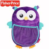 Fisher-Price Woodland Owl Car Tidy | Large Car Seat Pocket/Toys & Accessory Holder