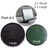 Adhesive Dashboard Mount x2 | Sticky Pad | Mobile Phone Holder | For GPS/Sat Nav | Pack of 2